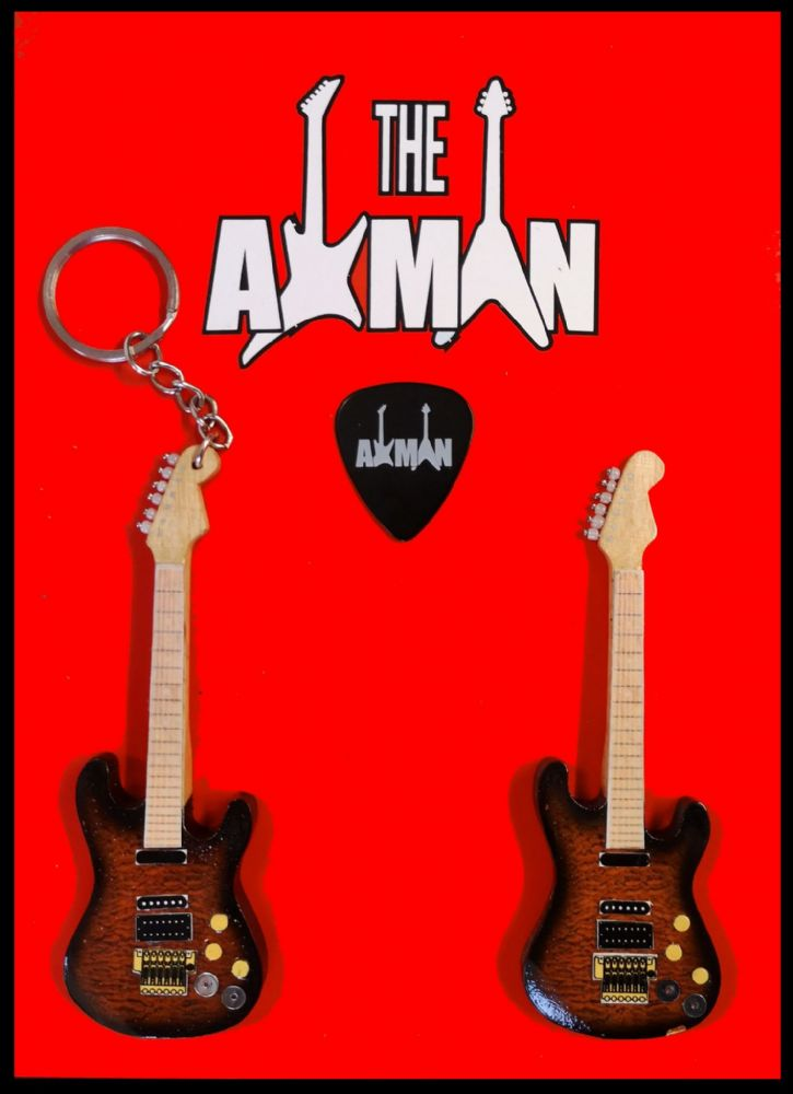 (Def Leppard) Phil Collen: PC1 Jackson - Keyring & Magnet Variation (UK Seller)